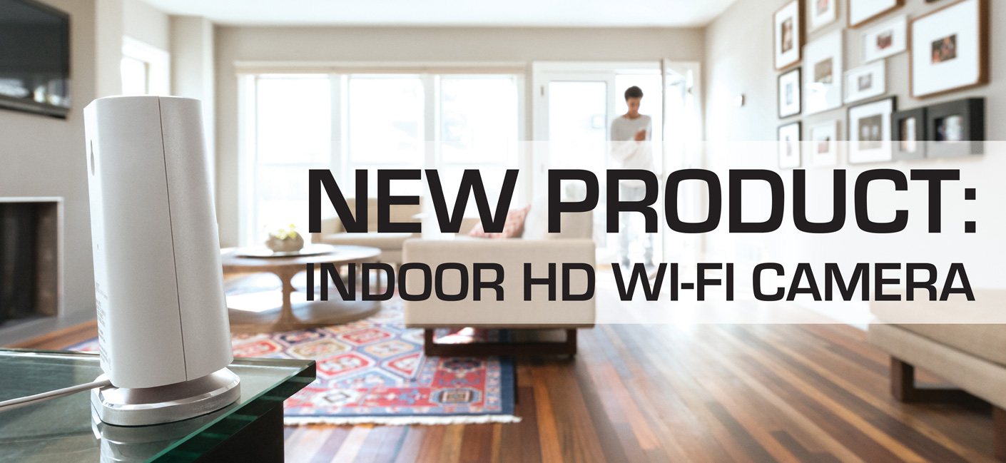 New Product:  HD Honeywell Indoor Wi-Fi Security Camera