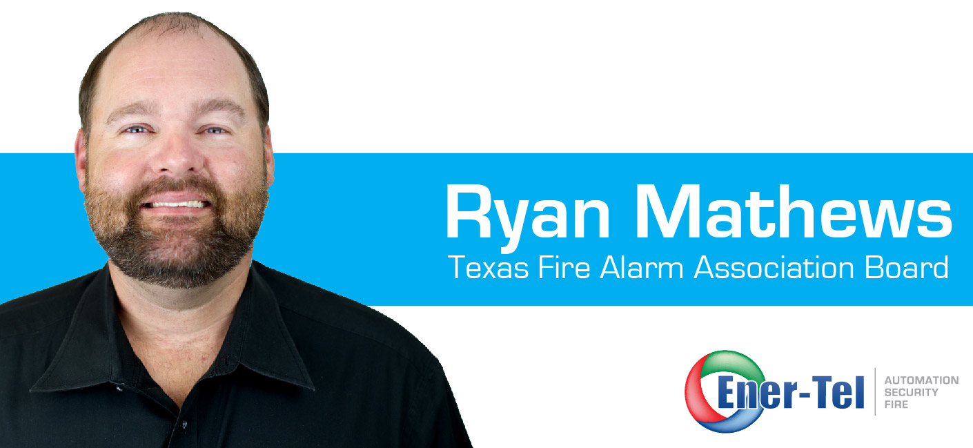 Ener-Tel Employee Appointed to the Texas Fire Alarm Association Board