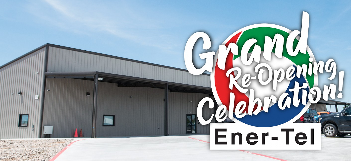 Ener-Tel Celebrates Grand Re-Opening with Ribbon Cutting and Free Community Event