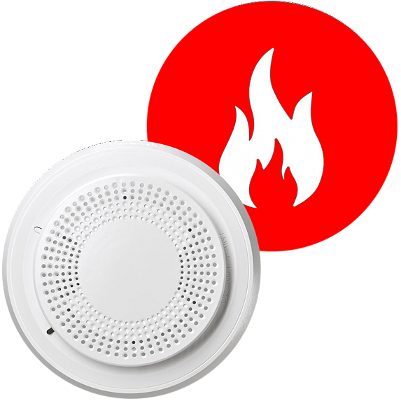 Protect your home with a fire alarm system from Ener-Tel.