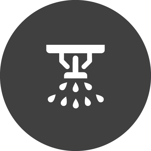 fire sprinkler icon